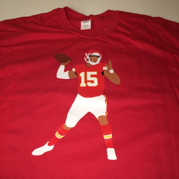 pretty nice 68a4b 12850 Kansas City Chiefs Patrick Mahomes Shirt